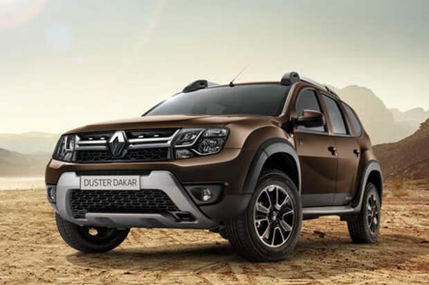 Renault Duster приодели в стиле Dakar