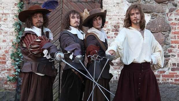 Во Франции стартовали съемки новой версии «Трех мушкетёров»