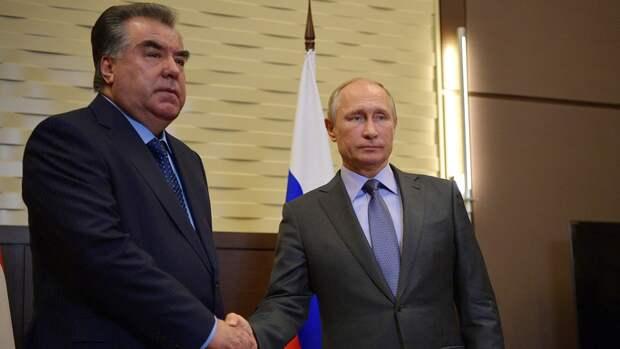 Путин обсудит с президентом Таджикистана ситуацию на границе с Киргизией