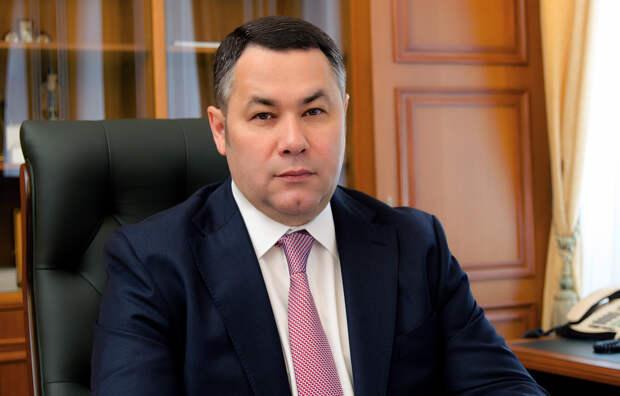 Губернатор Игорь Руденя выступит с отчетом в Законодательном собрании Тверской области