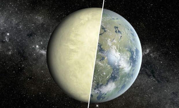 Венера: водный мир превратился в планету кислоты