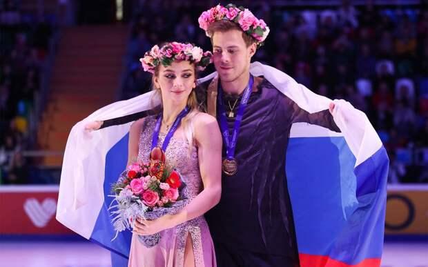 Синицина и Кацалапов: «Следующий год олимпийский, это не время рисковать. Неоправданно идти ва-банк»