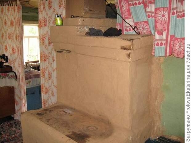 Русская глинобитная печь. Фото с сайта liveinternet.ru