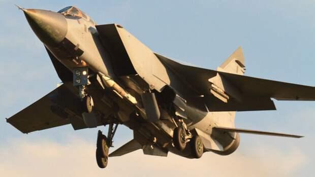 Новые ракеты ближнего боя установят на истребители МиГ-31БМ