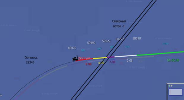 СП-2 8.08: Фортуна преодолела Пересечение, ура! До финиша - менее 23 км!!