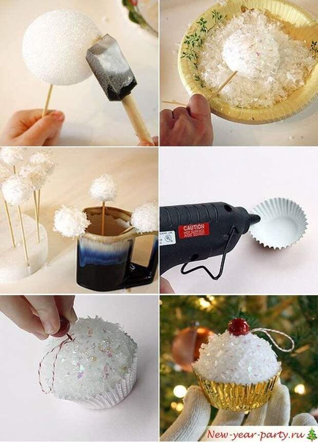 Новогодние игрушки своими руками - 10 идей