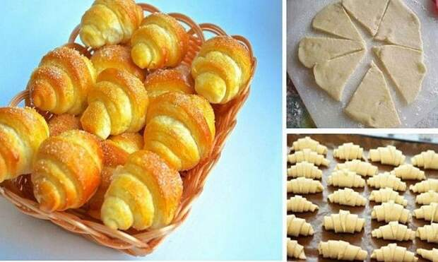 Рецепт дня — сладкие рогалики из идеального теста