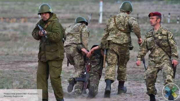 Трое солдат ВСУ подорвались на Донбассе