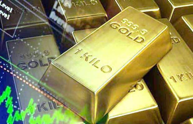 Почему цена золота резко упала?
