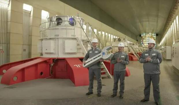 «Норникель» заявил озавершении модернизации Усть-Хантайской ГЭС на100%