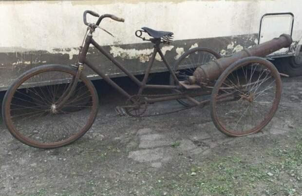 Велосипед с ускорителем WTF?, wtf, велосипеды, необычное, подборка, странное, транспорт