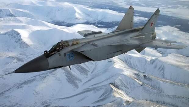 Американцев впечатлил модернизированный МиГ-31