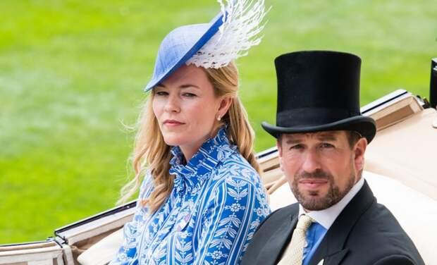 Это официально: старший внук королевы Елизаветы II Питер Филлипс и его жена Отэм развелись