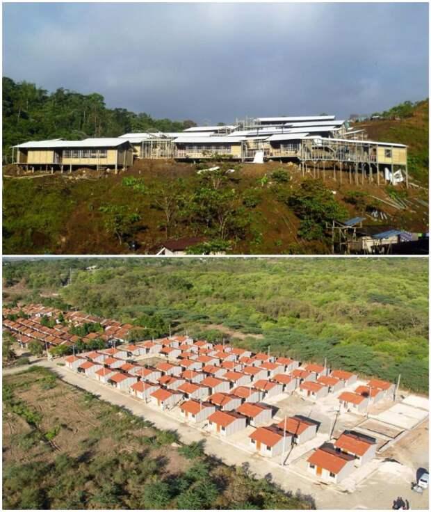 Колумбийцы научились строить надежные дома из кофейной шелухи