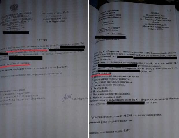 «Мама не разрешает»: в дзержинском ЗАГС с юмором ответили на вопрос полиции о детях фигуранта дела