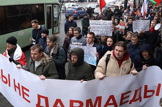 """Минск пытается запугать Москву """"оранжевой угрозой"""""""
