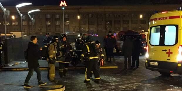 В Северном округе спасатели отработали действия при аварии в метрополитене