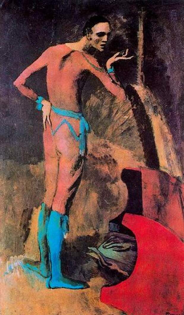 Pablo Picasso — The Actor, 1904