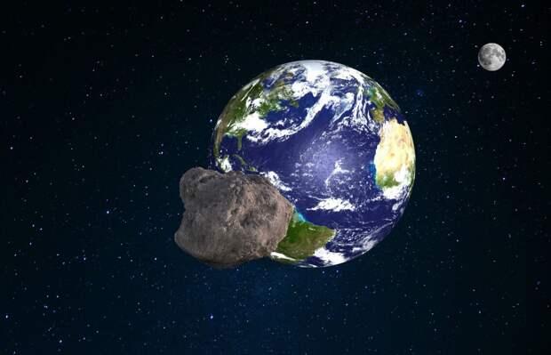 К Земле приближается астероид размером с нью-йоркскую Статую Свободы