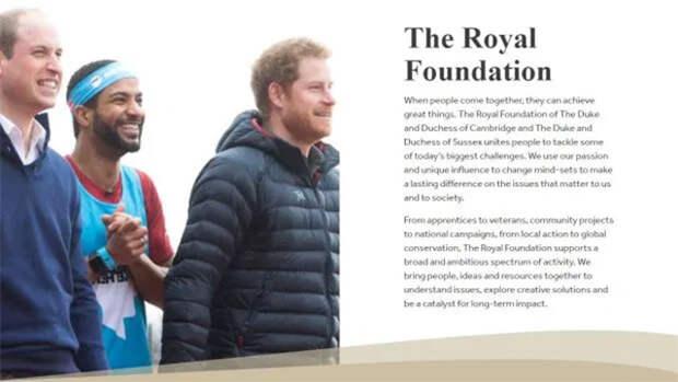 Кейт Миддлтон и принц Уильям исключили титулы Меган Маркл и принца Гарри из названия общего благотворительного фонда