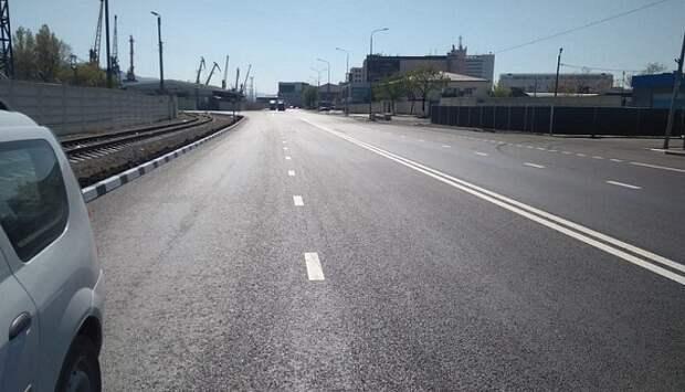 Ремонт девяти улиц завершается в Новороссийске
