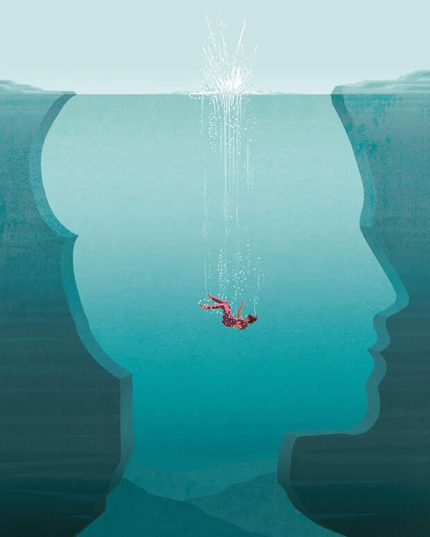 16+ иллюстраций от художника, который не боится показать жизнь такой, какая она есть на самом деле..