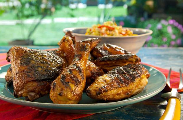 Улучшаем вкус жаренной курицы