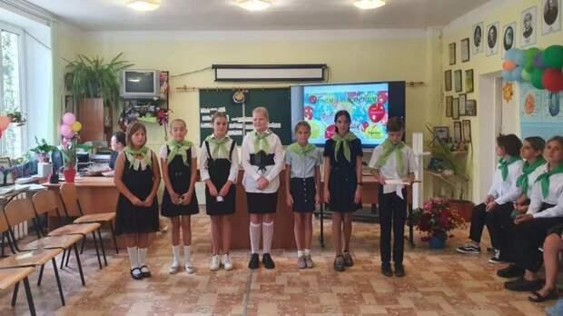 Школьному лесничеству «Крокус» Малореченской школы исполнилось 10 лет