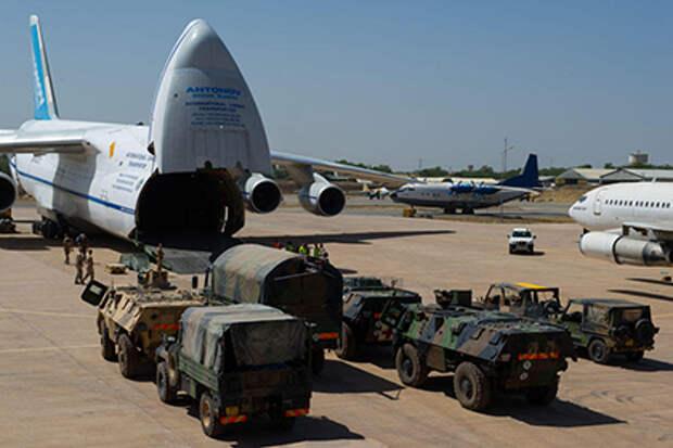 «Русланы» обеспечили две трети французских военных авиаперевозок в 2015 году