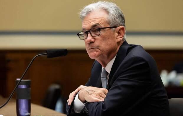 Председатель ФРС США Джером Пауэлл EPA-EFE/Graeme Jennings / POOL