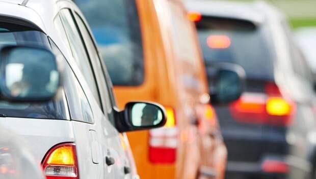 Рекордное количество транспорта с начала года зафиксировали на дорогах Подмосковья