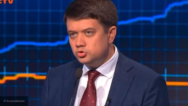 Спикер Верховной Рады признался, что говорит на украинском языке только на работе