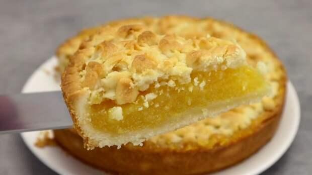 У вас есть лимон и апельсин? Испеките вкусный пирог с богатой начинкой
