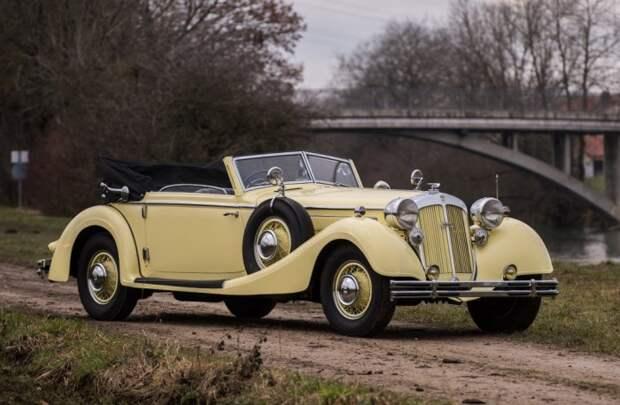 Согласно иерархии Auto Union, компания Horch позиционировалась как производитель автомобилей премиум-сегмента. | Фото: 360carmuseum.com