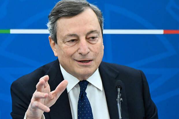 Премьер Италии прокомментировал возможность закупок «Спутника V»