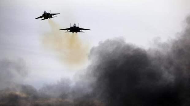 Истребители ВВС Израиля нанесли несколько авиаударов по объектам в Сирии
