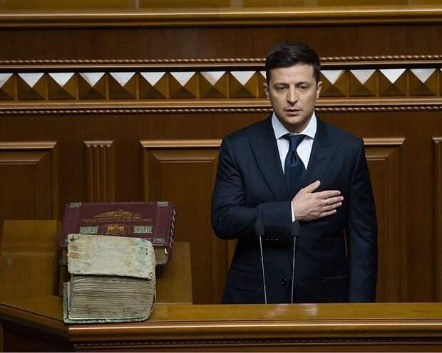 СМИ: на Украине заявили о попытке свержения Владимира Зеленского