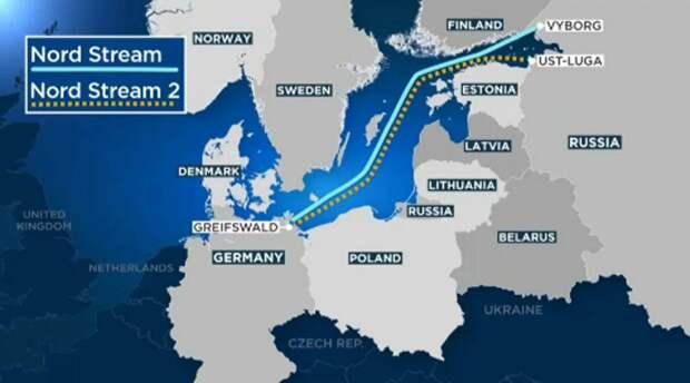 Германия с брезгливостью отвернулась от украинского предложения по Северному Потоку