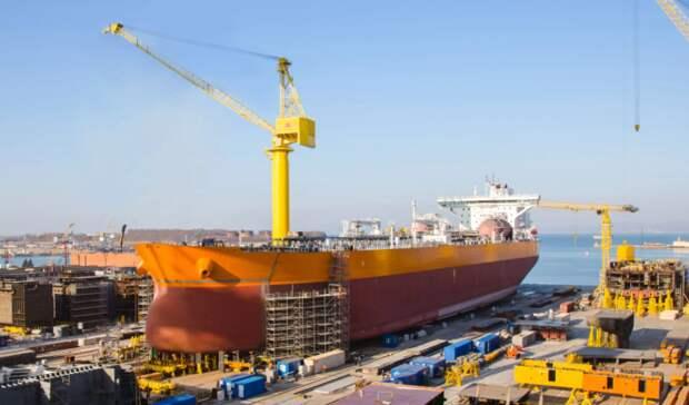 137млрд рублей составили инвестиции всоздание судоверфи «Звезда» вПриморье— Трутнев