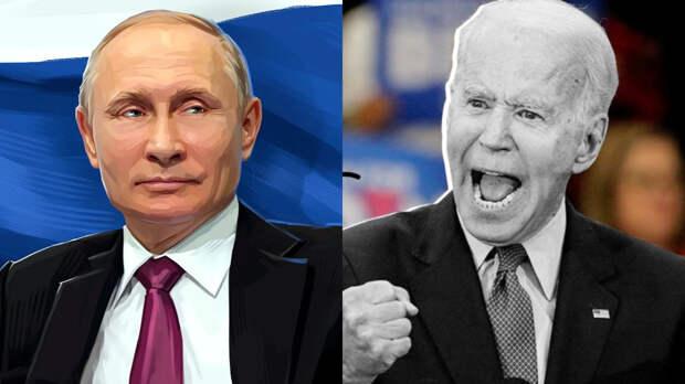 Американские зрители канала Fox News после бурного обсуждения выяснили, чем Байден проигрывает Путину