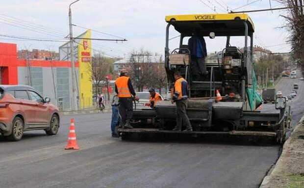 В Туле ремонт Октябрьской и Металлургов планируют завершить к сентябрю