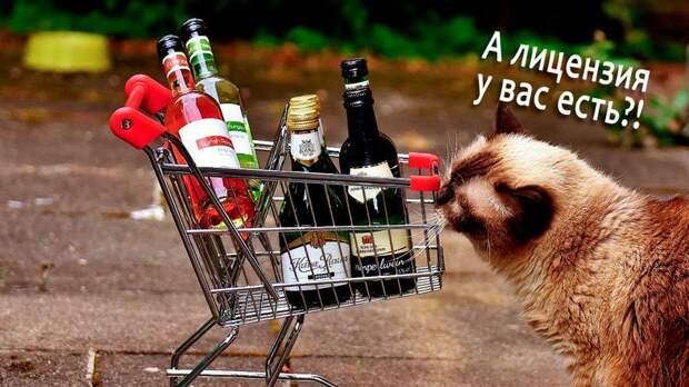 В Симферопольском районе пресечена продажа алкогольных напитков без лицензии