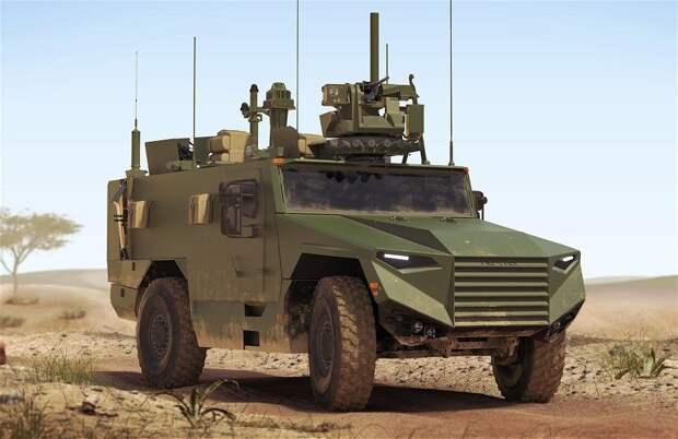 Контракт на новые французские бронированные машины VBMR Leger