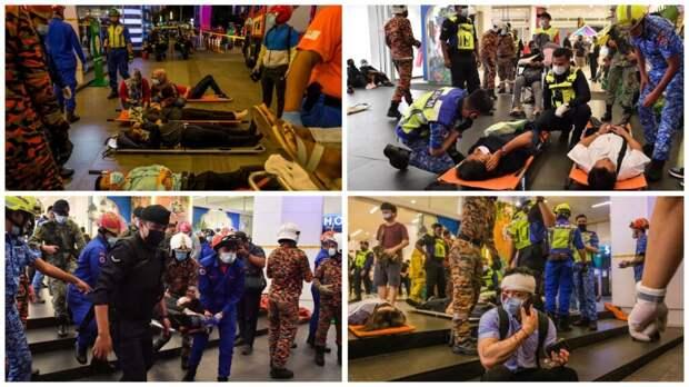 Из-за столкновения поездов в Малайзии пострадало как минимум 166 человек