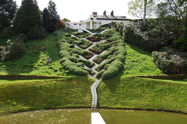 Грандиозный Сад космических размышлений, подобного которому нет на всем свете