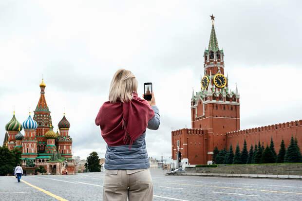Турпоток в Россию в 2020 году упал на 90%