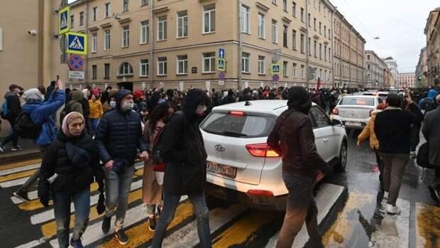 Незаконные акции в поддержку Навального не набрали заявленного числа участников