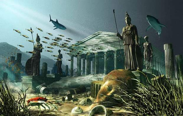 В поисках легендарной Антлантиды