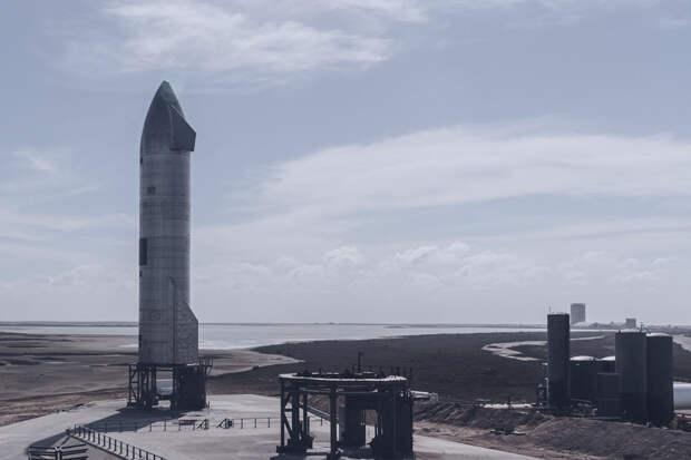 Прототип корабля SpaceX вновь взорвался во время испытаний