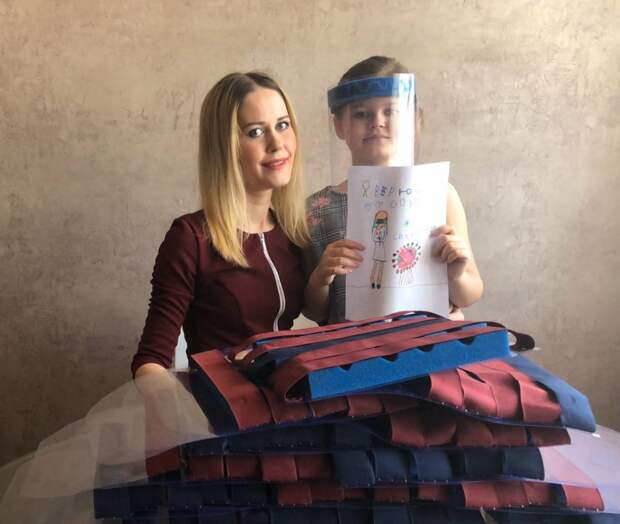 Юлия Белкина с дочерью/ из личного архива